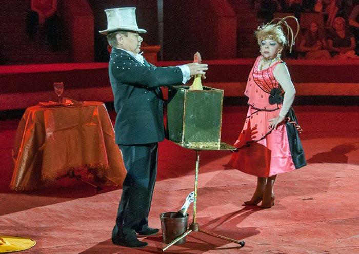 Виктор Бешляга в цирке