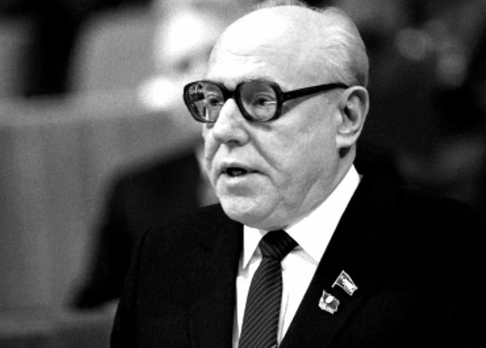 Председатель КГБ СССР Виктор Чебриков