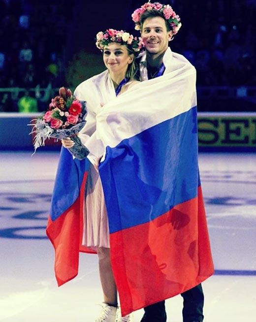 чемпионы Европы Виктория Синицина и Никита Кацалапов