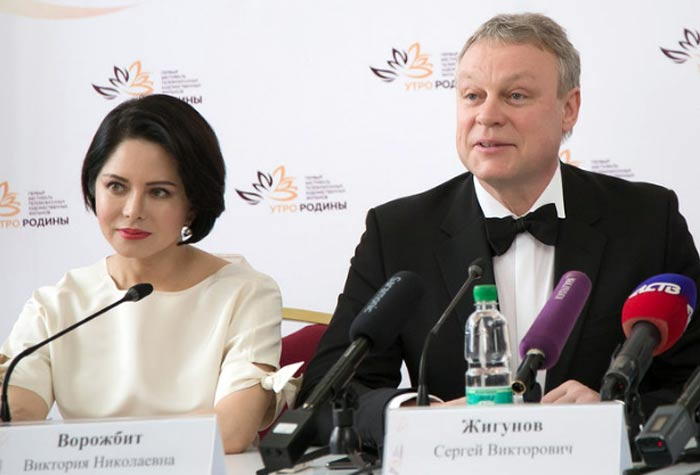 Виктория Ворожбит и Сергей Жигунов