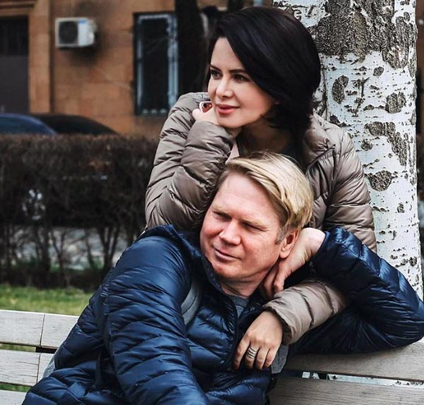 Виктория Ворожбит и бывший муж Виктор Суханов