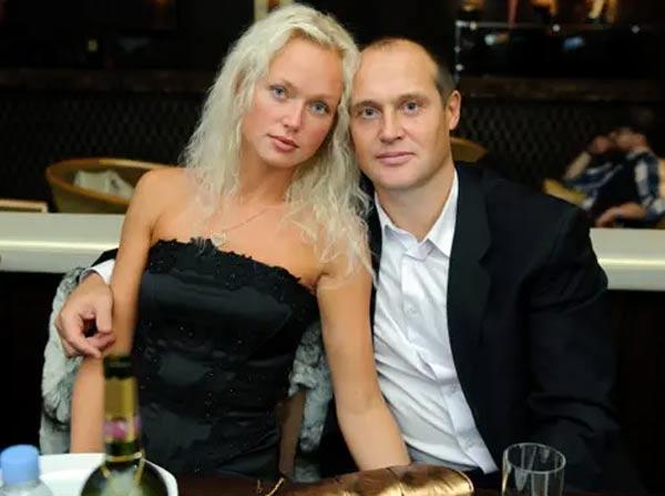 Вячеслав Кулаков и жена Светлана