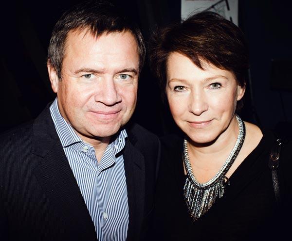 Валентин Юмашев и жена Татьяна Юмашева