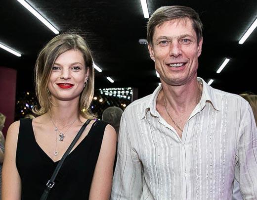 Владимир Моисеенко и дочь Елизавета