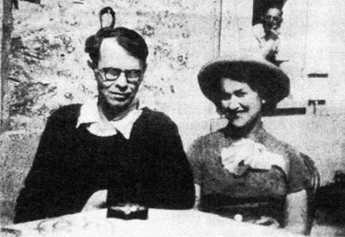 Владислав Ходасевич и жена Ольга Марголина