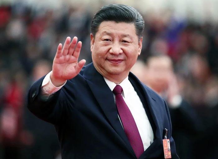 Верховный лидер Китая Си Цзиньпин