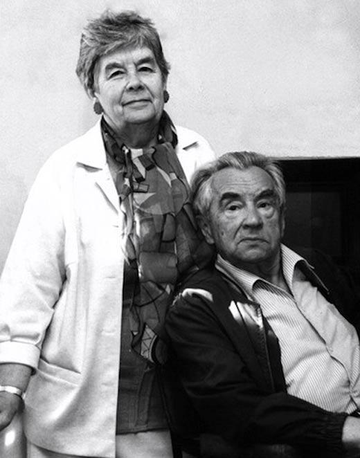 Ярополк Лапшин и жена Лариса Козлова