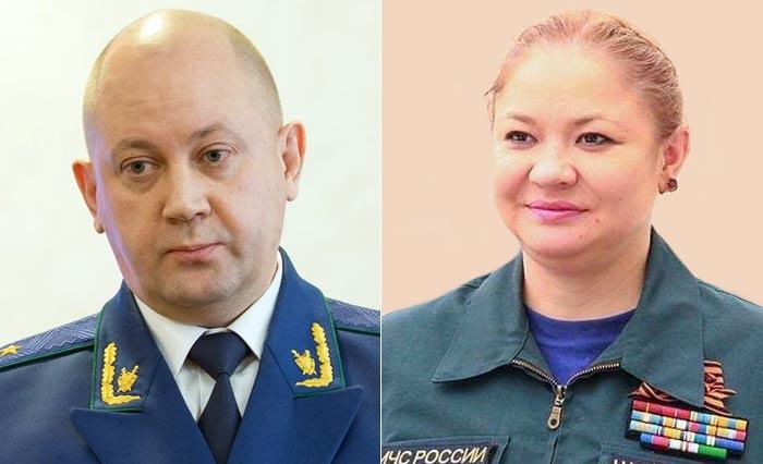 Юлия Шойгу и муж Алексей Захаров