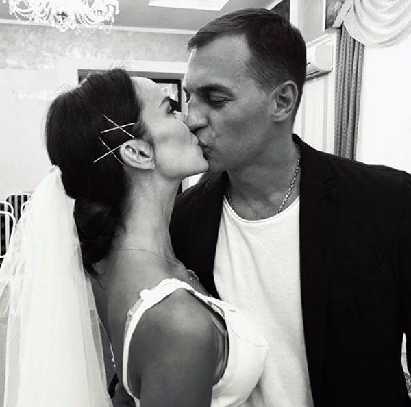Юлия Зимина и муж
