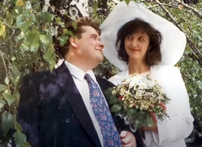 Александр Морозов и бывшая жена Нона