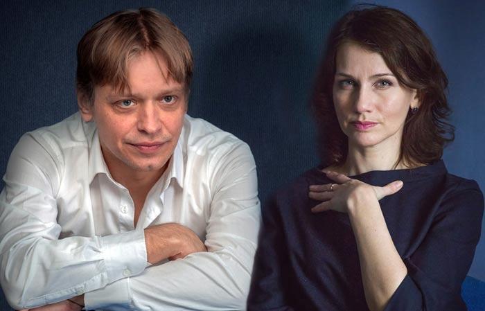 Юрий Елагин и жена Алла Еминцева