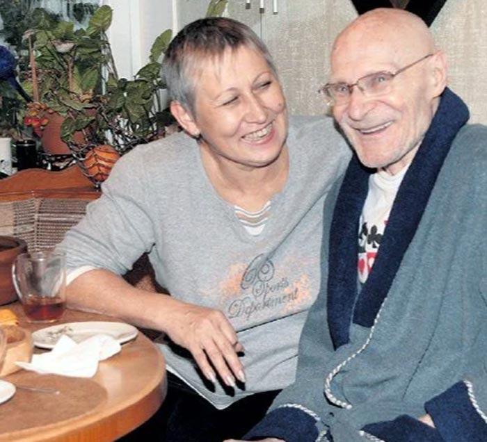 Юрий Шерстнев и жена Людмила Макеева