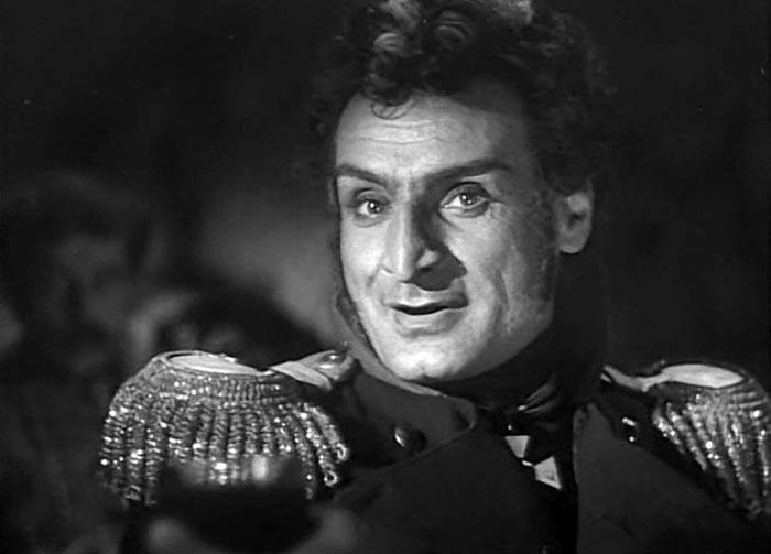 Серго Закариадзе в роли генерала Багратиона
