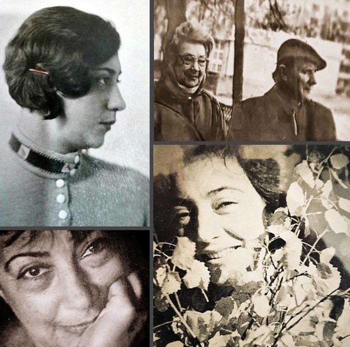 Зинаида Левина жена Евгения Самойлова