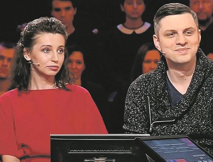 Инна Семенова и Михаил Малкин