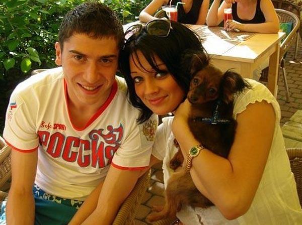 Алексей Ионов и жена Яна