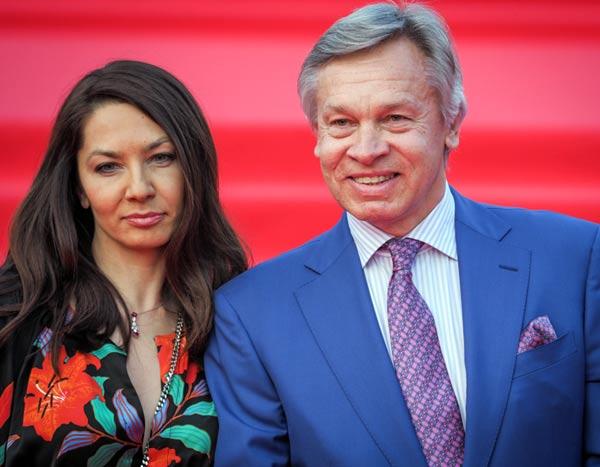 Алексей Пушков и дочь Дарья Пушкова