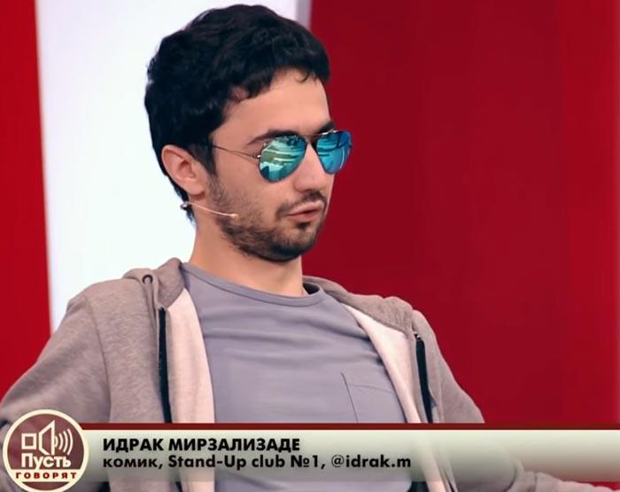 Идрак Мирзализаде в программе Пусть говорят