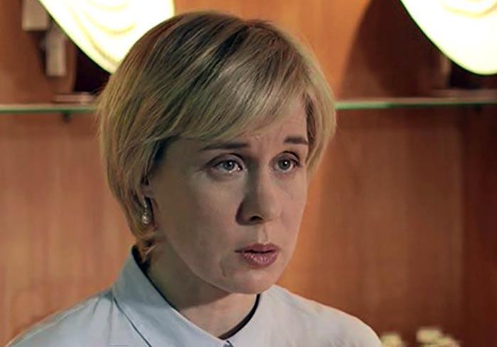Наталья Иохвидова в сериале Шаман. Новая угроза