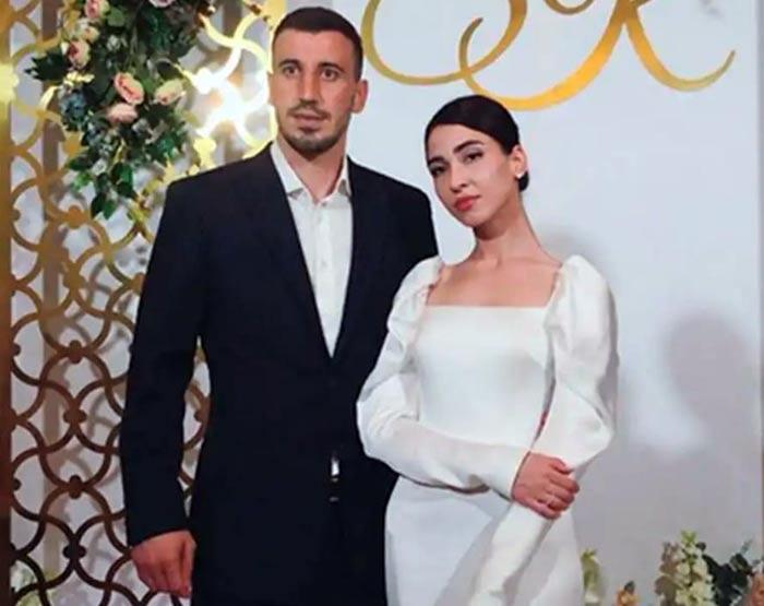 Сослан Джанаев и жена Кристина Черчесова
