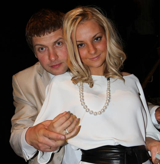 Дарья Сагалова и Константин Масленников