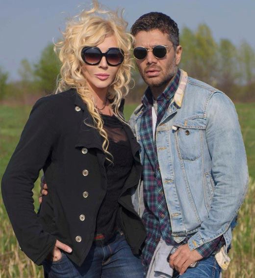Ирина Билык и Аслан Ахмадов 2