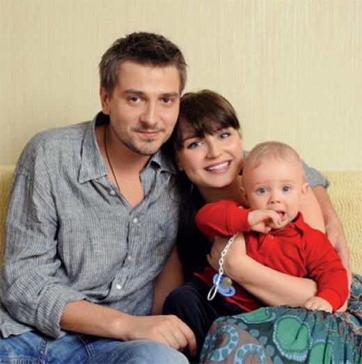 Петр Кислов с Полиной Гагариной