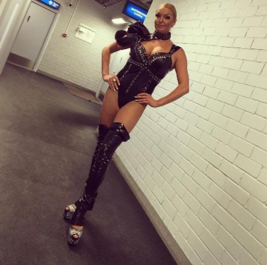Анастасия Волочкова костюм для садо-мазо