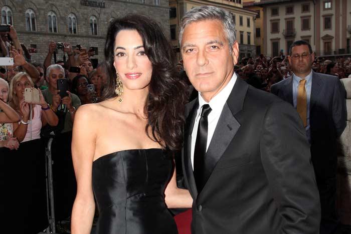 Амаль Клуни на красной дорожке