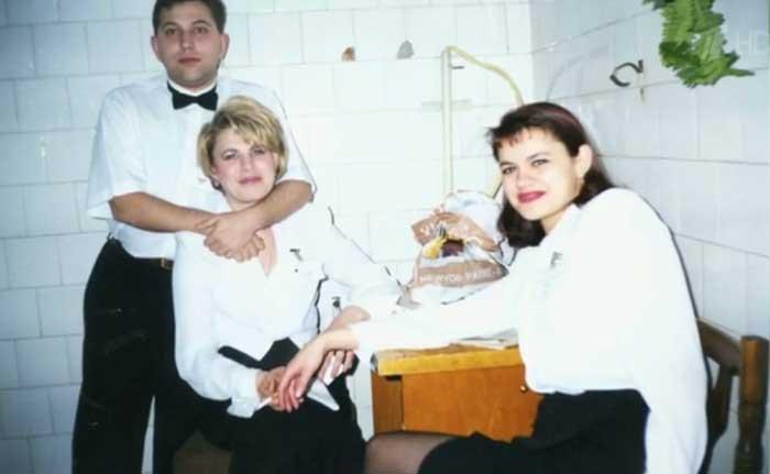 Ирина Круг в молодости