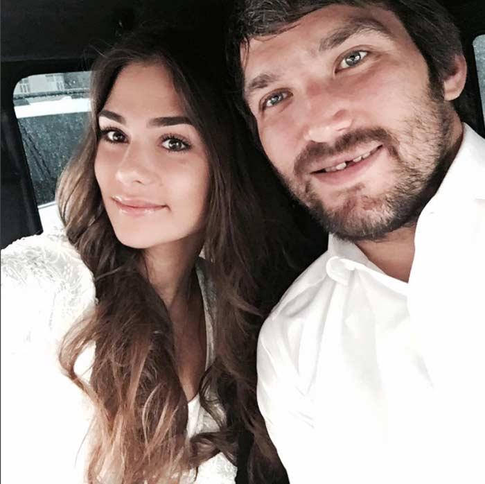 свадьба Александр Овечкин и Анастасия Шубская