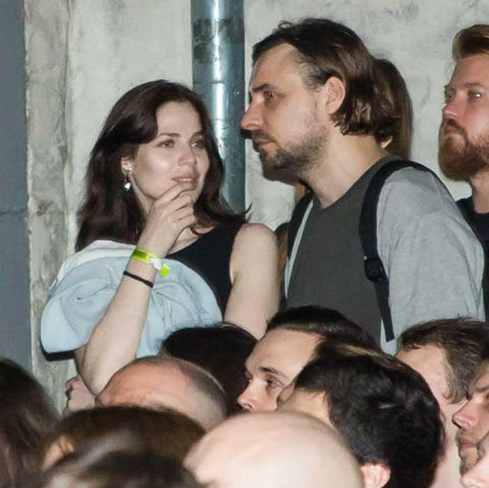 Евгений Цыганов и Юлия Снигирь на фестивале документального кино