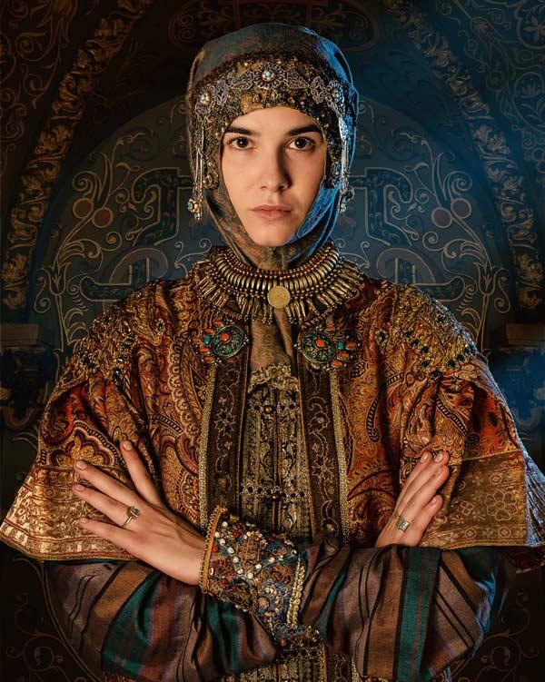 Мария Андреева в роли Софии Палеолог