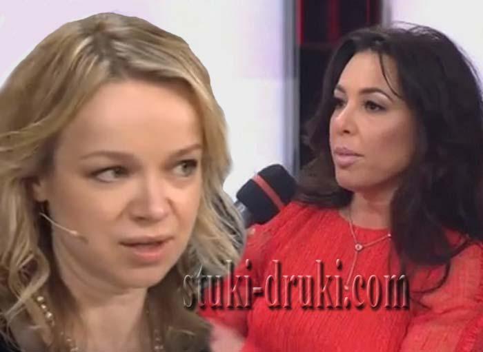 Ирина Аманти наехала на Виталину Цымбалюк Романовскую