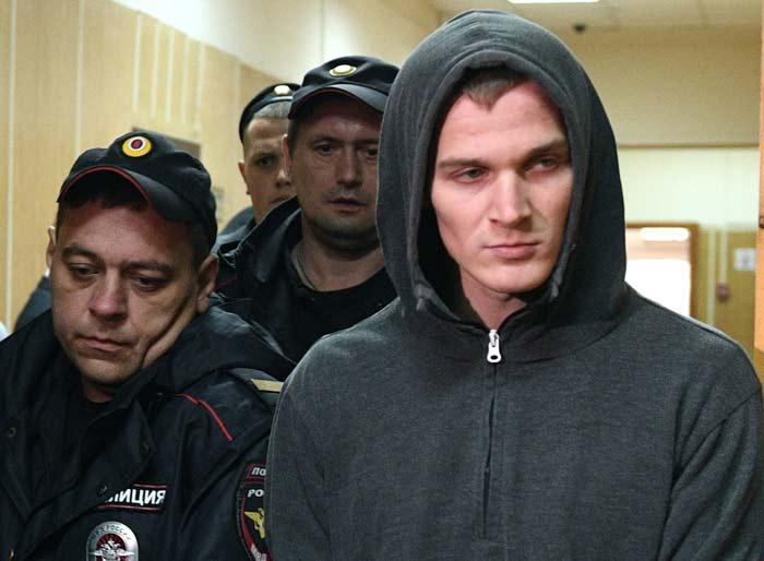 Корней Макаров после ареста