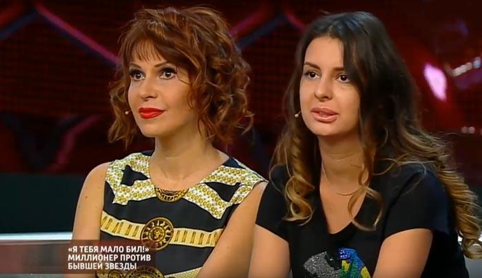 Наталья Штурм и дочь Елена