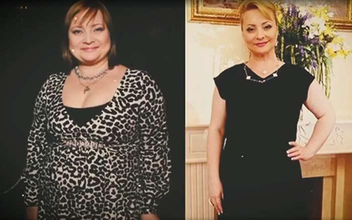 Светлана Пермякова до и после похудения