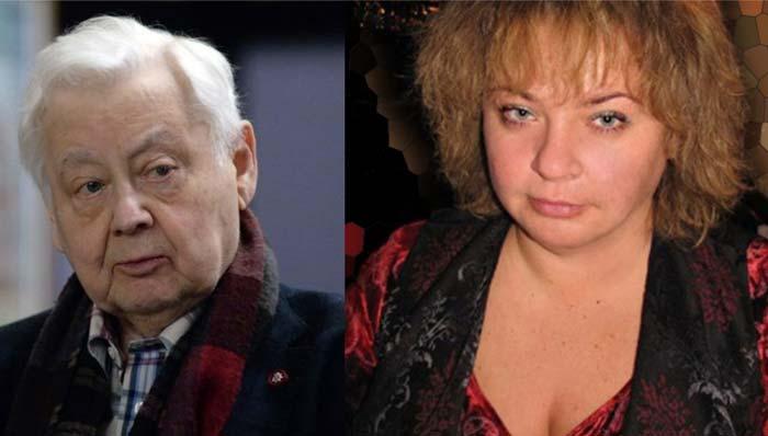 Олег Табаков и его дочь