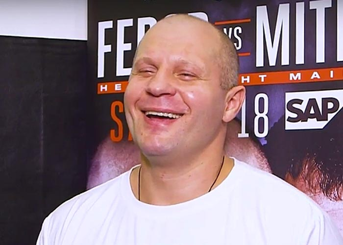 Федор Емельяненко в футболке
