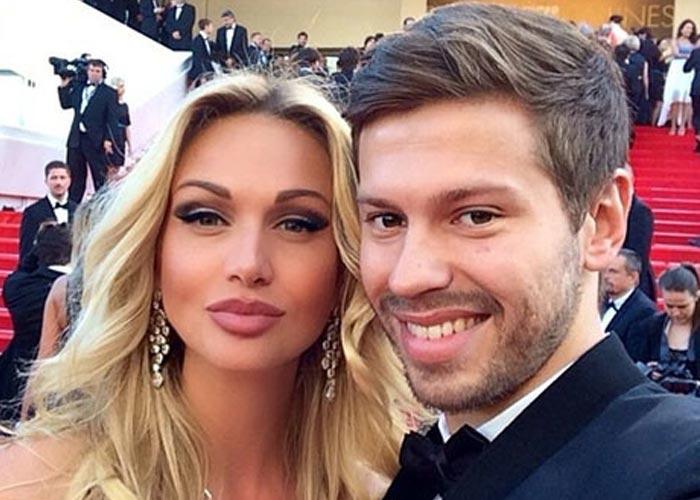 Виктория Лопырева и Фёдор Смолов