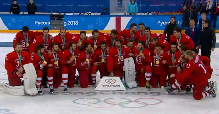 Россия хоккей Олимпиада 2018