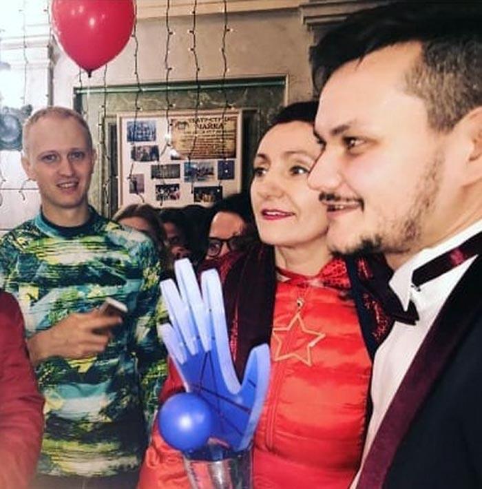 Тимофей Руденко Синяя рука
