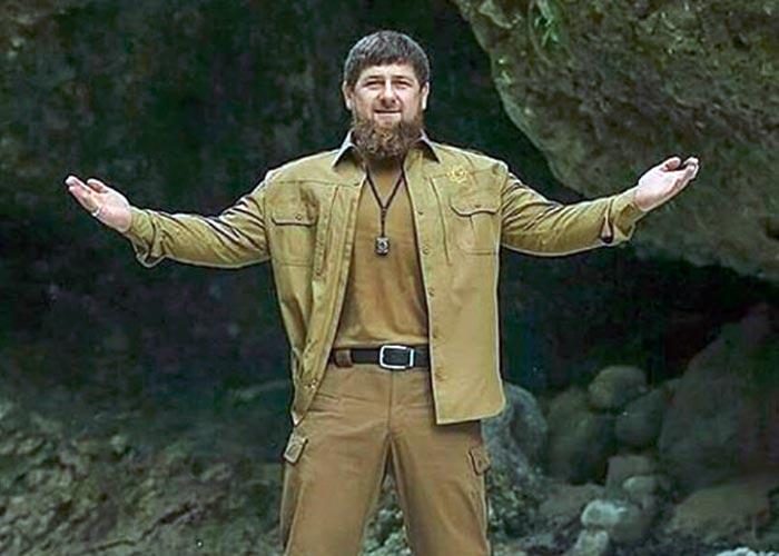Кадыров в куртке