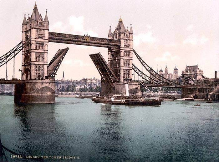 Тауэрский мост 1900 год