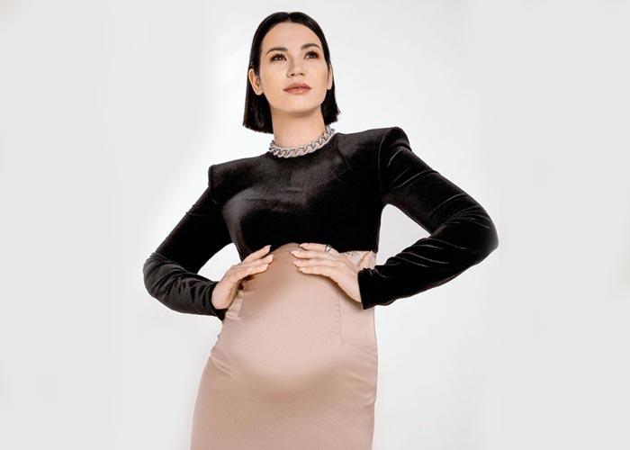 беременная Ида Галич