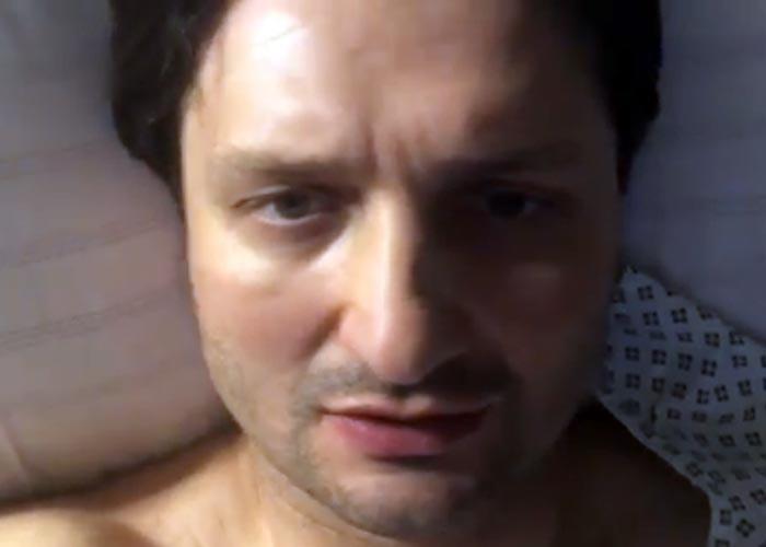 Эдгард Запашный в больнице