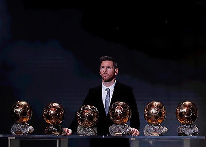 Лионель Месси шесть Золотых мячей