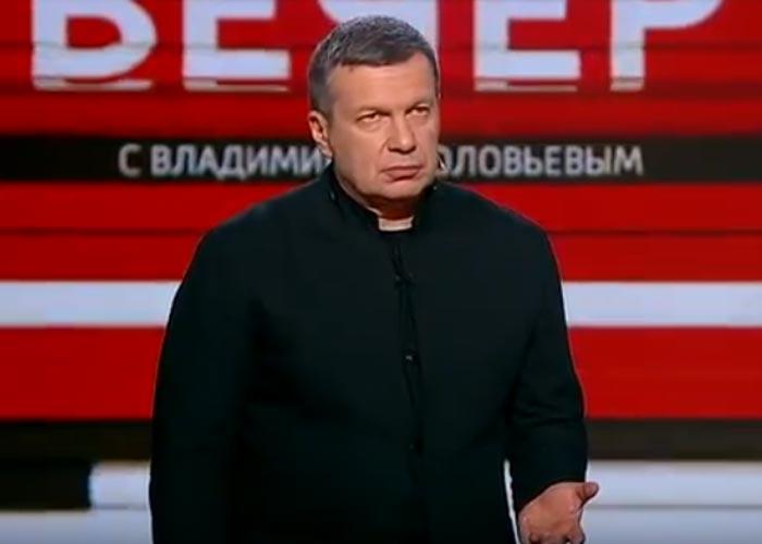 Телеведущий Владимир Соловьев