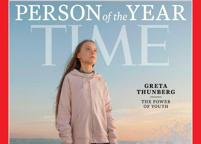 Time Грета Тунберг Человек года