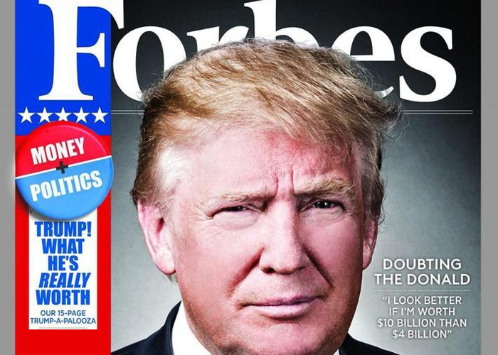 Трамп Forbes